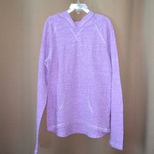 Girls Hooded Lavender Top Size 12